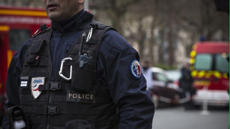 (Les quatre hommes ont été interpellés la semaine dernière en région parisienne © MAXPPP)