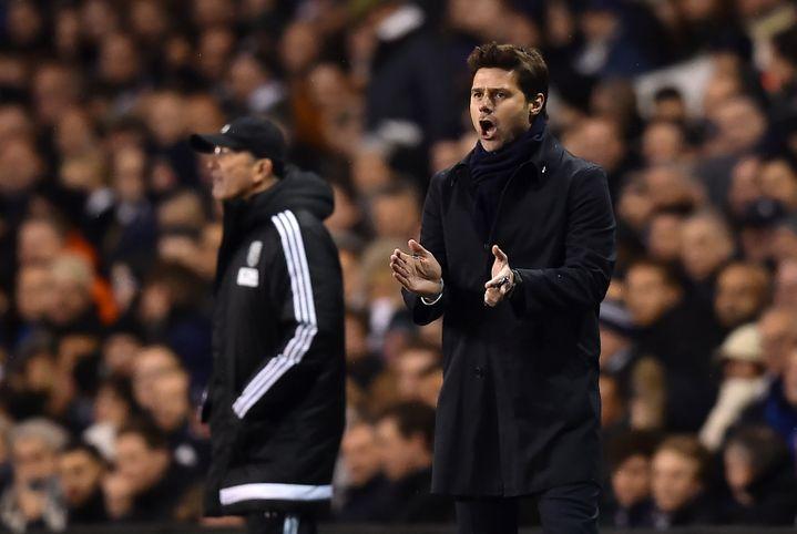 L'entraîneur de Tottenham, Mauricio  Pochettino. (BEN STANSALL / AFP)