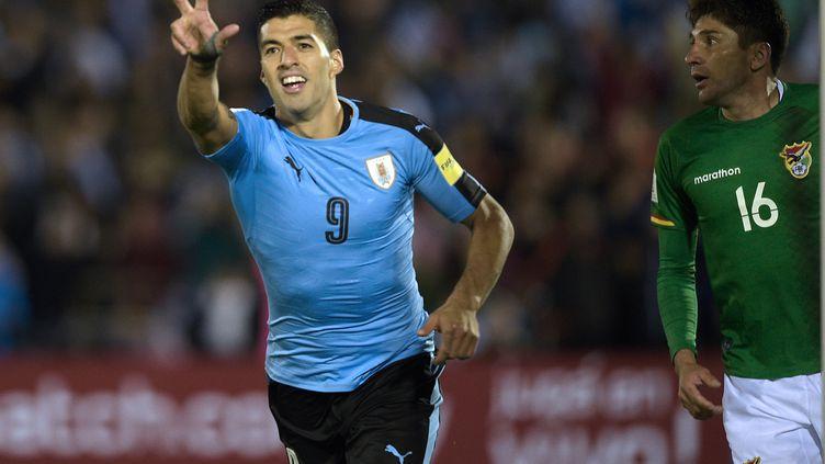 Luis Suarez (MIGUEL ROJO / AFP)