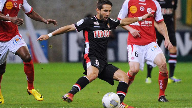 Le Portugais Moutinho (Monaco) (PHILIPPE HUGUEN / AFP)