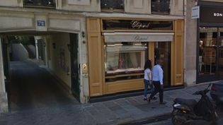 Capture d'écran de la bijouterie Chopard, situé rue du Faubourg Saint-Honoré, le 11 décembre 2015. (GOOGLE MAPS)