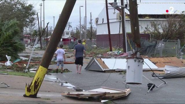 La Floride dévastée après le passage de l'ouragan Michael