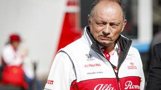 Frédéric Vasseur, patron de l'équipe de Formule 1 Alfa Romeo. (FLORENT GOODEN / DPPI MEDIA)