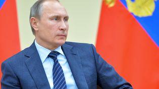 Le président russe Vladimir Poutine, le 27 novembre 2015 à Moscou (Russie). (ALEXEI DRUZHININ / AFP)