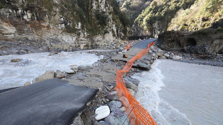 Alpes-Maritimes : les villages de la Haute-Vallée de la Roya de nouveau enclavés