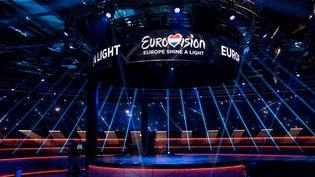 Le concours de l'Eurovision 2020, qui aurait dû avoir lieudans la salle omnisports Ahoy Arena de Rotterdam (Pays-Bas),est remplacé par un concert confiné. (KRIS POUW / EBU)