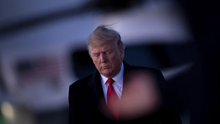 Donald Trump, le 18 décembre 2019. (BRENDAN SMIALOWSKI / AFP)