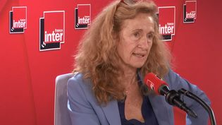 Nicole Belloubet, ministre de la Justice, invitée de France Inter mercredi 6 novembre. (RADIO FRANCE)