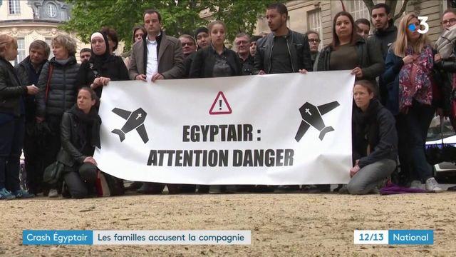 Crash Egyptair : les familles des victimes accusent la compagnie
