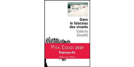 """Première de couverture du livre """"Dans le faisceau des vivants"""" de Valérie Zenatti.  (Editions de l'Olivier)"""
