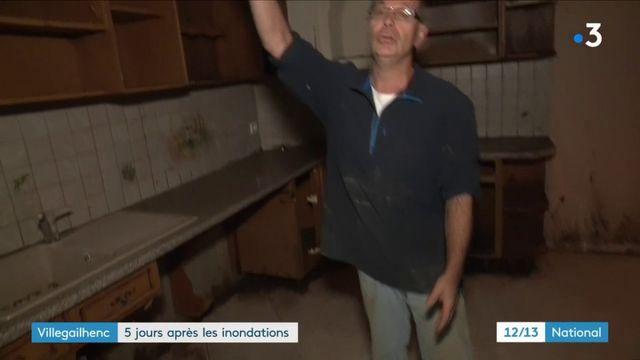 Inondations : le village de Villegailhenc commence à peine à se reconstruire