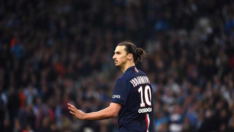 "Zlatan Ibrahimovic ""se plait"" au PSG (ANNE-CHRISTINE POUJOULAT / AFP)"