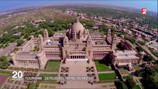 Inde : à la découverte du plus bel hôtel du monde
