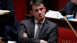 Le Premier ministre lors des questions au gouvernement à l'Assemblée nationale, le 21 juin 2016. (THOMAS SAMSON / AFP)