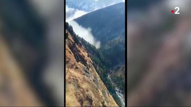 Inde : une vallée engloutie après la rupture d'un glacier de l'Himalaya