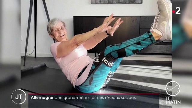 Allemagne: une grand-mère star du fitness sur le réseau social TikTok