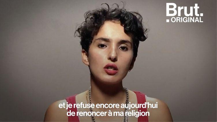 """VIDEO. Dans """"La Petite Dernière"""", elle raconte la quête d'identité d'une femme lesbienne et musulmane (BRUT)"""