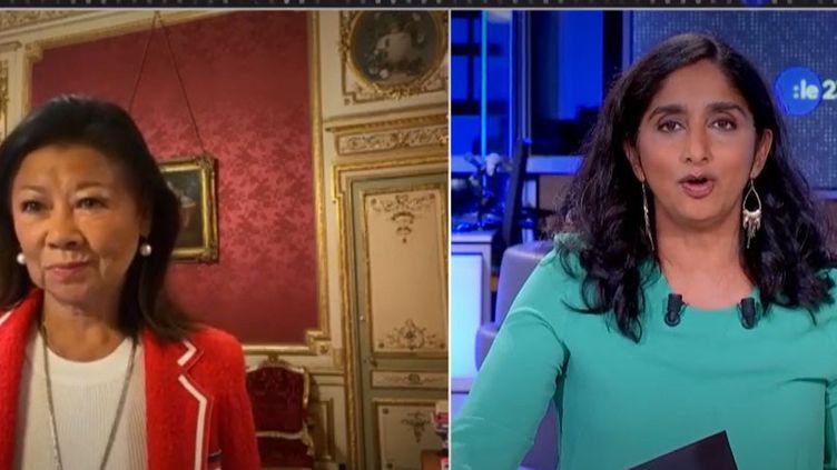 Jeanne d'Hauteserre, maire du 8e arrondissement de Paris. (FRANCEINFO)