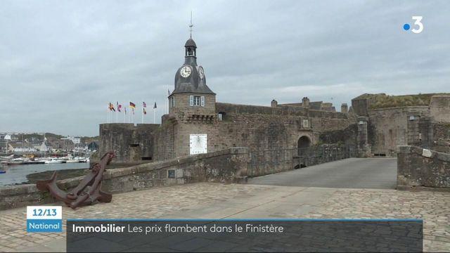 Immobilier : flambée des prix dans le Finistère