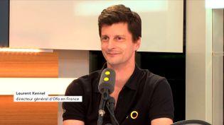 Laurent Kennel est directeur général d'Ofo en France. (FRANECINFO / RADIO FRANCE)