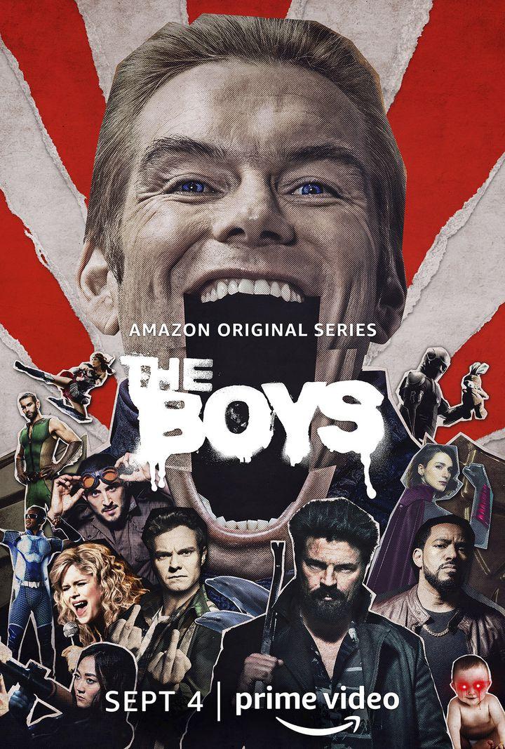 """La deuxième saison de """"The Boys"""" arrive sur Amazon Prime Vidéo à partir du 4 septembre. (AMAZON PRIME VIDEO)"""
