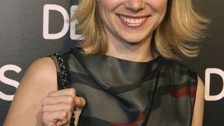 """La nouvelle directrice générale de Yahoo!, Marissa Mayer, assiste à une soirée donnée par le magazine """"Details"""", le 20 mars 2008 à BeverlyHills (Californie, Etats-Unis). (CHRIS WEEKS / WIREIMAGE / GETTY IMAGES)"""