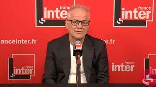 Thierry Frémaux, délégué général du Festival de Cannes, le 6 juillet sur France Inter. (FRANCEINTER / RADIO FRANCE)