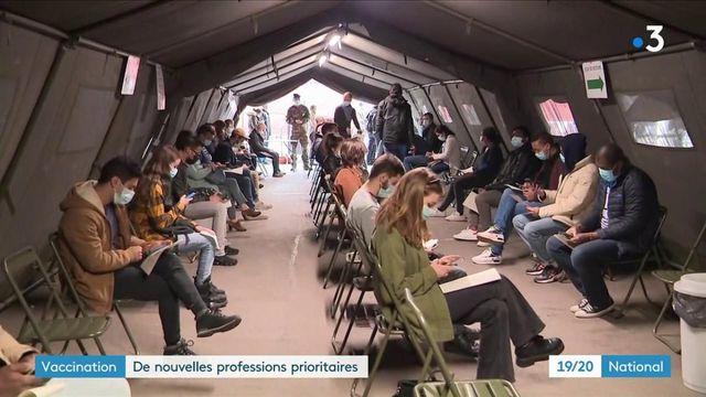 Vaccin contre le Covid-19 : une quarantaine de professions éligibles