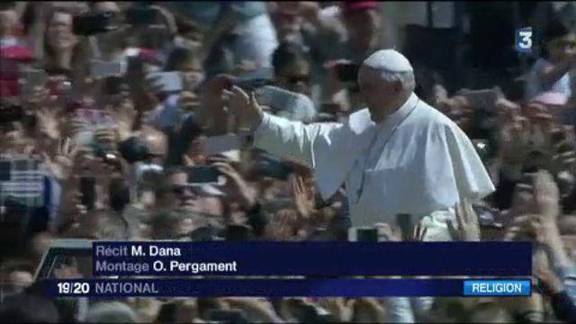 Pâques : le message de paix du pape François