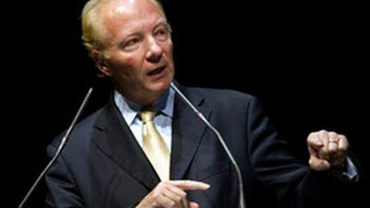 Brice Hortefeux, ministre de l'Immigration, de l'Intégration, de l'Identité nationale et du Co-développement (AFP / Alain julien)