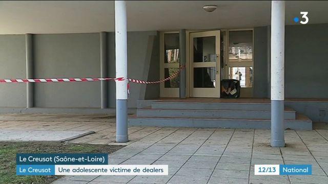 Saône-et-Loire : une adolescente victime de dealers au Creusot