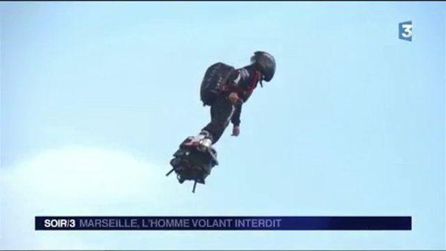 Marseille : l'homme volant interdit