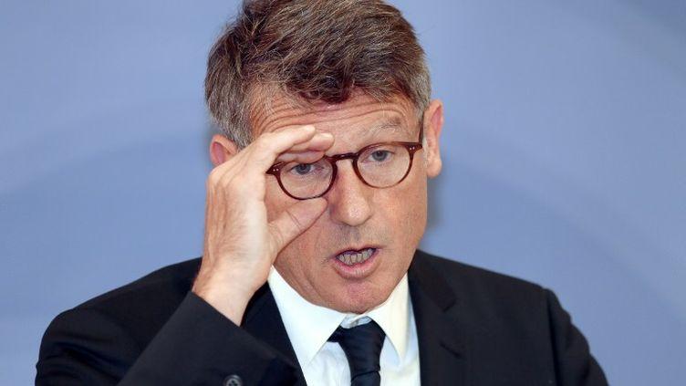 Le ministre de l'Education nationale, Vincent Peillon,le 29 aout 2012 à Paris. (JACQUES DEMARTHON / AFP)