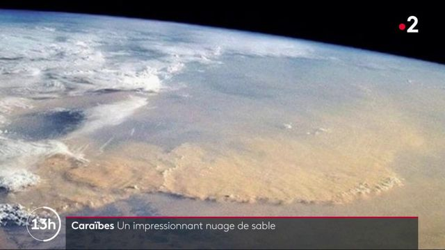Caraïbes : un nuage de sable venu du Sahara assombrit le ciel