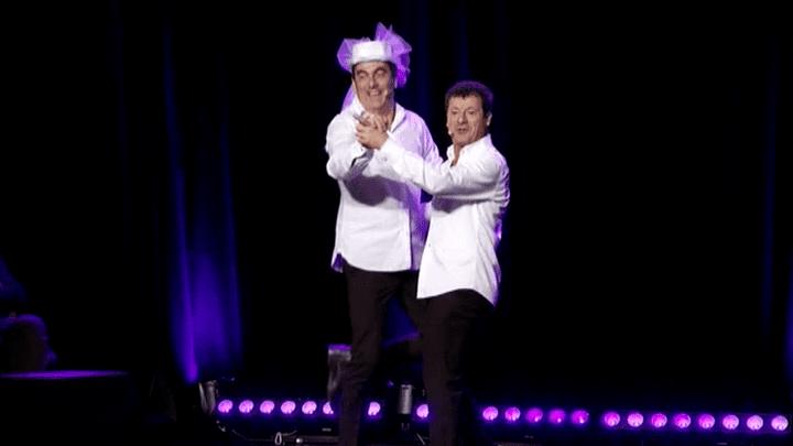 Les Chevaliers du fiel dans leur nouveau spectacle  (France 3 Ile-de-France)