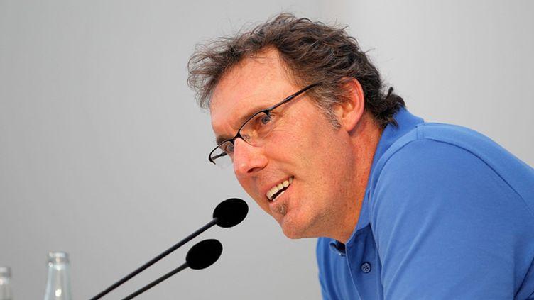 Laurent Blanc souhaite un mode de fonctionnement plus ouvert qu'avant avec les entraîneurs de L1 (MAXPPP)