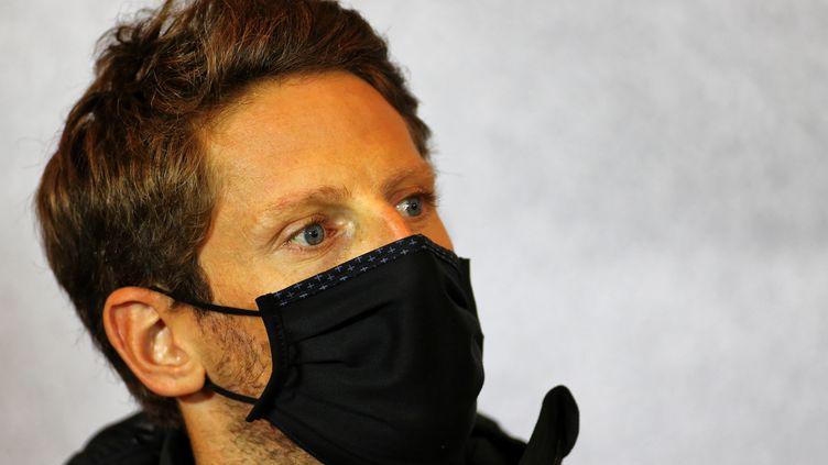Le pilote français de F1 Romain Grosjean (- / XPBIMAGES.COM)