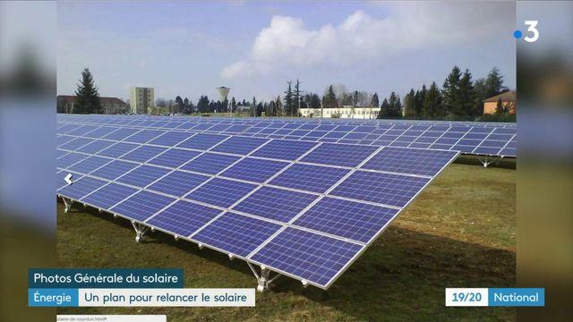 Énergie : un plan pour relancer le solaire