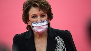 La ministre de la Culture Roselyne Bachelot à son arrivée au Festival du film américain de Deauville (Normandie), le 4 septembre 2020. (LOIC VENANCE / AFP)