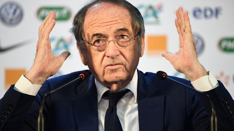Noël Le Graët, le président de la Fédération Française de Football. (FRANCK FIFE / AFP)
