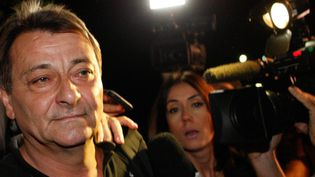 Cesare Battisti le 12 mars 2015.  (Carlos Villalba/EPA/MAXPPP)