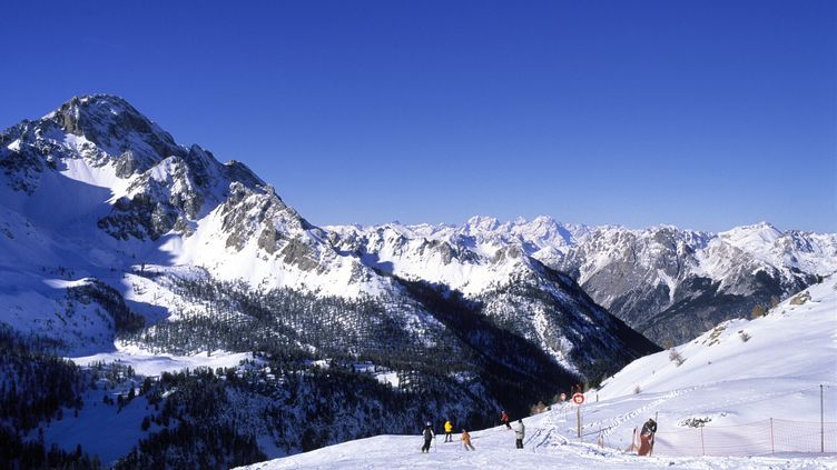 Lavallée du Queyras, dans les Hautes-Alpes (photo d'illustration). (TRIPELON-JARRY/ ONLYFRANCE.FR / ONLY WORLD)