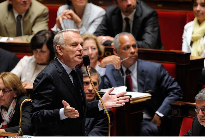 Le Premier ministre, Jean-Marc Ayrault, le 17 juillet 2012 à l'Assemblée. (WITT / SIPA)