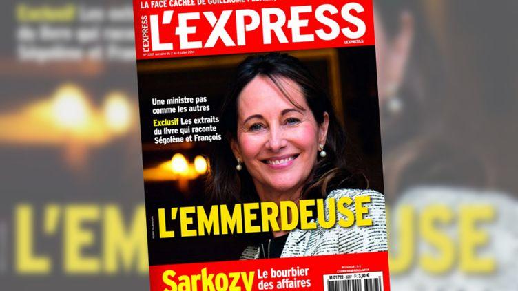 """La couverture du magazine """"L'Express"""" publié le 2 juillet 2014. (L'EXPRESS)"""
