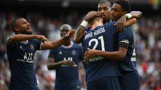 Ander Herrera a ouvert le score face à Clermont. (FRANCK FIFE / AFP)