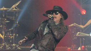 Guns N' Roses, Las Vegas, en 2014  (REX/REX/SIPA)