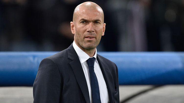 L'entraîneur du Real Madrid Zinédine Zidane