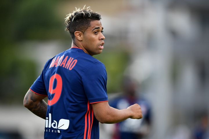 Mariano Diaz (Lyon) (FABRICE COFFRINI / AFP)