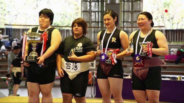 Sumo : un sport qui s'écrit désormais au féminin
