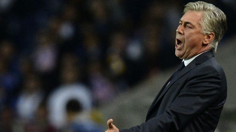 Carlo Ancelotti. (FRANCISCO LEONG / AFP)